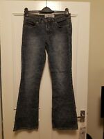 Miss Selfridge blue distressed womens jeans size 8