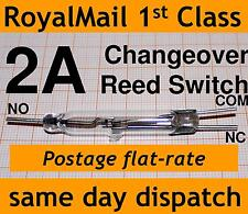 Reed Switch Changeover (SPDT) 2A change over N/C N/O reedswitch XGH-8Z powerful