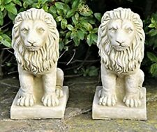 Latex and fibreglass Mould Pair of Lions 20cm Tall.