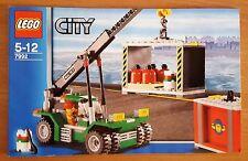LEGO City Nr.7992 Containerstapler NUR Bauanleitung -  Instruction Only Sammler