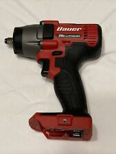 """Bauer 1983C-B 20V Hypermax Lithium-Ion 3/8"""" Cordless Impact Wrench (Bare Tool)"""