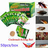50pcs Pesticide Insecticide Effective Powder Cockroach Killing Bait Roach Killer