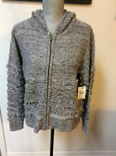 Volcom Ladies Aura Bora Zip Up Sweater Size Medium