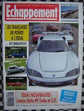 ECHAPPEMENT 1993 RENAULT CLIO WILLIAMS + SAFRANE BITURBO / PEUGEOT 405 T16 + 306