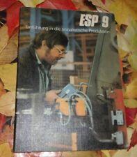 DDR + Schulbuch + ESP / Einführung in die sozialistische Produktion    Klasse 9
