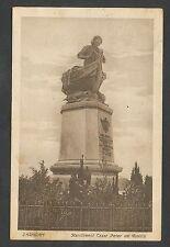 Zaandam  Standbeeld Czaar Peter de Groote