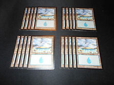20 Basic Land #338 - SAME ART - Island - Onslaught - MP-NM - Magic MTG FTG