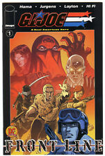 G.I. Joe Frontline # 1 Dynamic Forces Exclusive oro foil Variant cover Gi Joe