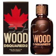 DSQUARED2 WOOD EDT UOMO 100ML PROFUMO ORIGINALE NO TESTER