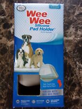 """Four Paws Wee Wee Silicone Pad Holder Fits Pads 22""""X23"""" or Larger"""