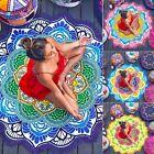 Bohemian Round Hippie Tapestry Beach Throw Roundie Indian Mandala Towel Yoga Mat