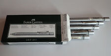 Faber Castell Kugelschreiber Grip 2011 silber, Nr. 144111 diverse Sparpakete!