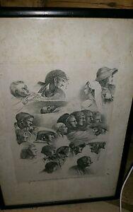 Rare Edmund Dorrell 1778-1857 engraving aft Joseph De ClaussinFrench 1766-1844