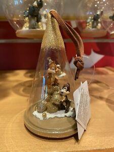 CHRISTMAS Ornament Disneyland PARIS Chip and Dale FORET DISNEY new