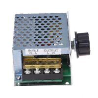 Regulateur Tension Voltage Controleur Vitesse Dimmer SCR + Coque 4000W AC 2 I6I4