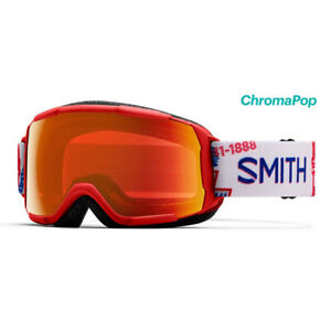 2020 Smith Grom Help Wanted Goggle w/ CP Everyday Red Mirror Lens