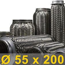 *Auspuff Flexrohr Ø 55 x 200 Länge (mm) Fahrzeuge 1.4