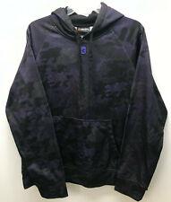 And1 Hoodie Pullover Size Medium Purple Black Camo Basketball