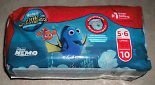 New Huggies Little Swimmers Disposable Swimpants Large 32+lbs 10pk Finding Nemo