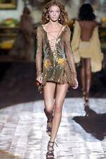 $7080 Authentic Runway ROBERTO CAVALLI Dress 2Die4 Medium