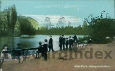 WOLVERHAMPTON West Park Postcard STAFFORDSHIRE Shurey's Publications