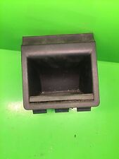 AUDI A3 8P 2004 UP REAR CONSOLE ASH TRAY / COIN TRAY IN SOUL BLACK 8P0863351D