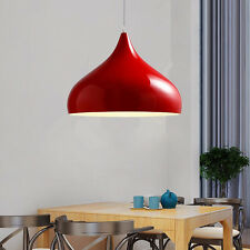 Kitchen Pendant Light Red Chandelier Lighting Bar LED Lamp Modern Ceiling Lights
