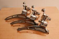3 x SunTour CYCLONE front derailleurs vtg road racing touring Campagnolo 1970's