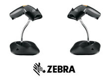 ZEBRA, LS1203, USB 7 FOOT STRAIGHT CABLE, WITH STAND, BLACK