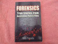 forensics true stories from australian police files vikki petraitis lrg/pb