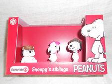 Schleich 22058 Peanuts  Scenery Pack Snoopys siblings 3er Set NEU & OVP