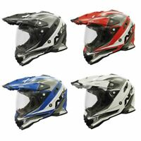 2021 AFX FX-41DS Dual Sport Full Face Motorcycle Helmet - Pick Size/Color