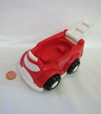 Fisher Price Little People RED FIREMAN'S FIRETRUCK Fire Man Truck for STATION #3