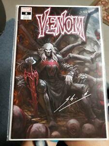 Marvel Venom # 5 Skan Variant Knull Cover SIGNED ! Beautiful NM/Mint LOOK !!!!!