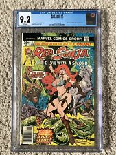 CGC 9.2 Red Sonja 1 - From The Age Of Conan- She Devil