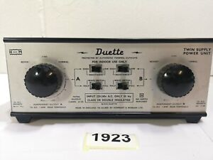 Hammant & Morgan H And M Duette Twin Supply Power Unit Vintage #1923