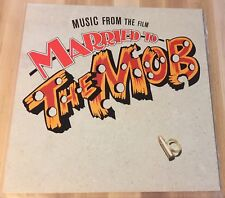 Mint! Married To The Mob Soundtrack Music 1988 LP Reprise 25763-1 SRC Pressing