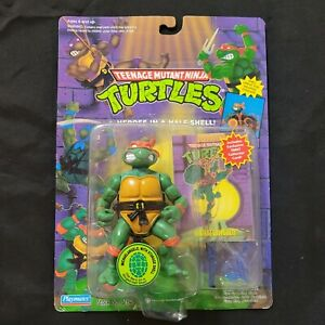 Teenage Mutant Ninja Turtle Michaelangelo With Storage Shell Blue Weapons W/Card