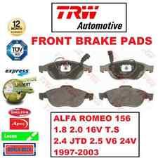 FOR ALFA ROMEO 156 1.8 2.0 16V T.S 2.4 JTD 2.5 V6 1997-2003 FRONT BRAKE PADS SET