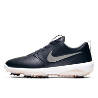 NIKE ROSHE G TOUR Womens Golf Shoes Cleats Spikes - Dark Gray / Pink - Size 10