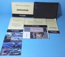 entourage in manuals literature ebay rh ebay ph 2007 hyundai entourage owners manual pdf