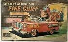 Nomura Toy Electric Tinplate Made In Japan Fire Chief