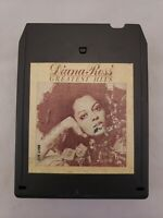 8-track tape cartridge Diana Ross Greatest Hits Motown 1976