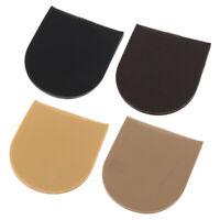 1 Pair Men Women Rubber Glue on Heels Grip Pads Shoe Sole Repair Supply Kit
