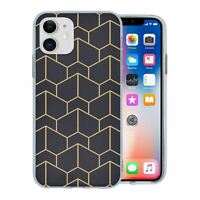 For Apple iPhone 11 Silicone Case Geometric Abstract - S6130