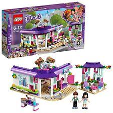 Lego Friends Emma's Art Café Playset Toy Kid Gift Birthday Boy Girl Build Presen