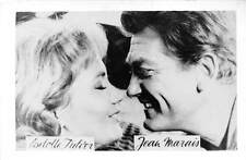 B55195 Liselotte Tulier and Jean Marais Couple Acteurs Actors 9x7cm