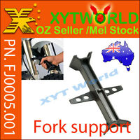 FJ0005 Fork Support Suspension Seal Saver MX Dirt Tie Down Block Motorcycle bike