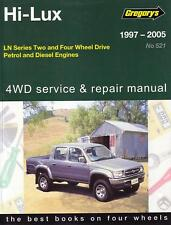 GREGORYS WORKSHOP REPAIR MANUAL TOYOTA HILUX LN 97-05