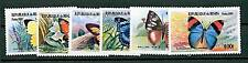 BENIN -  2001 BUTTERFLIES FARFALLE - MNH 6 Values